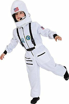 Boys Girls Spaceman Astronaut Space Boy Book Day Fancy Dress Costume Outfit