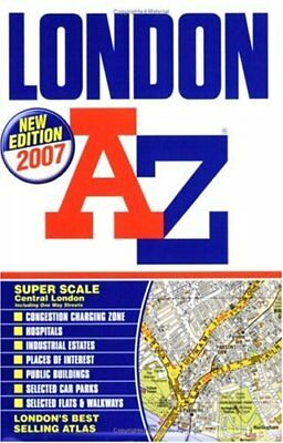 (Very Good)1843483289 London Street Atlas,Geographers' A-Z Map Company,Paperback