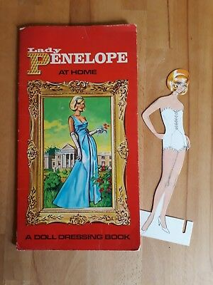 EXTREMELY RARE, ORIGINAL Thunderbirds Lady Penelope cut out