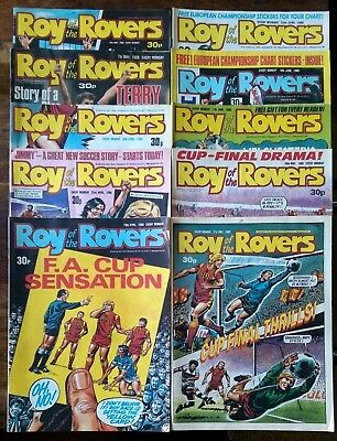 Roy of the Rovers UK comics x 10 1988 Lot 18