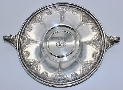 International Silver Sterling Persian Two-Handle Tray 404Gms