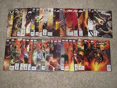Ghost Rider 1-35 + More 2006 Series Vf/nm!!! World War Hulk & Suydam Covers