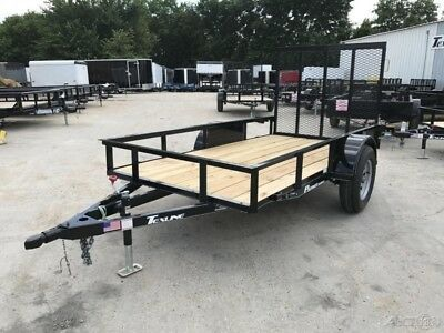 5 x 10 10ft Mower Lawn Service Motorcycle Bike ATV Small Utility Cargo Trailer