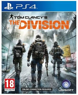 THE DIVISION PS4 Game NEW UK PAL English for Sony Playstation 4 - FAST POST