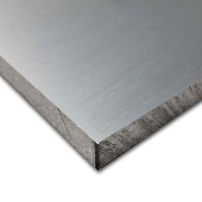 6061-T651 Aluminum Plate, 3/8 inch x 12 inches x 12 inches