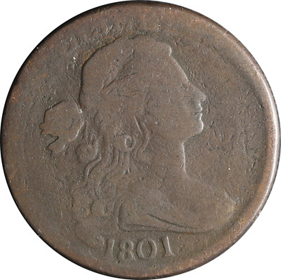 1801 Large Cent Great Deals From The TECC Bargain Bin