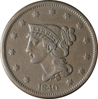 1840 Large Cent Great Deals From The TECC Bargain Bin