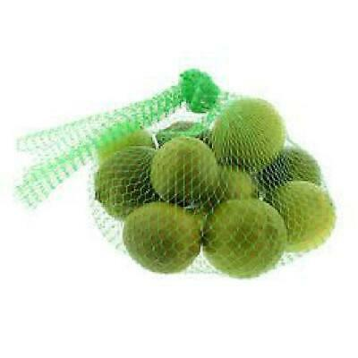 "15"" Reusable Mesh Nylon Netting for Vegetables Produce Toys 100 pcs./bundle (Gre"