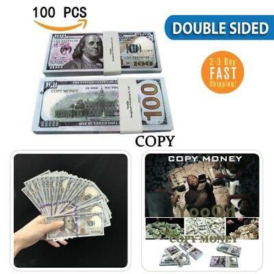 play money fake 10000 full print money copy of 100 dollar bills