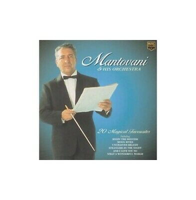 Mantovani - 20 Magical Favourites - Mantovani CD 5VVG The Cheap Fast Free Post