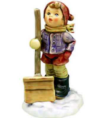 "hummel #2036  ""let it snow"" 5"" new  *mint*"