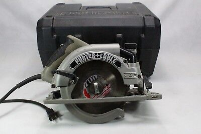 """Porter Cable 324MAG 7 1/4"""" Heavy Duty Circular Saw in Case"""