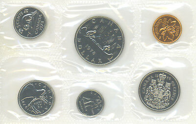 1979 CANADA Proof Like Set  Uncirculated with COA and envelope as issued PL