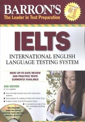 Barron's IELTS with Audio CDs, 3rd Edition by Lougheed, Dr. Lin