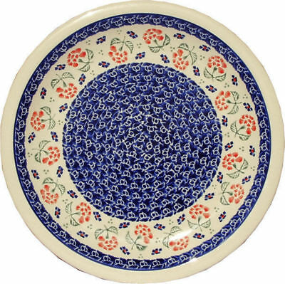 "Polish Pottery Dinner Plate 11"" GU1014/963 from Zaklady Boleslawiec"