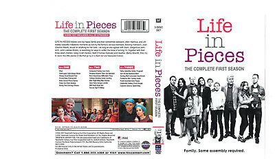 Life in Pieces: Complete 1st Season (3-Disc) NEW DVD