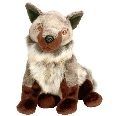 TY Beanie Baby - HOWL the Wolf (7 inch) - MWMTs Stuffed Animal Toy