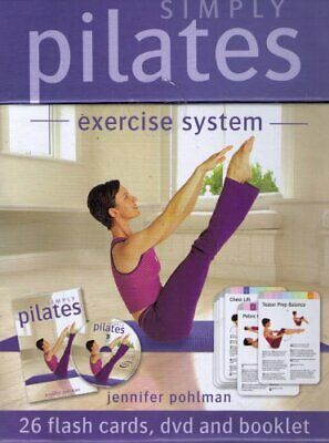 Simply Pilates (Exercise System) DVD Book The Cheap Fast Free Post