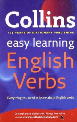 Easy Learning English Verbs (Collins Easy L... by Collins Dictionaries Paperback