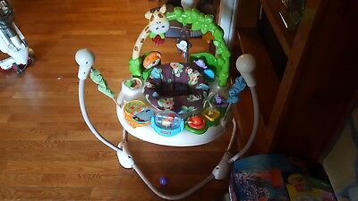 7dfffaa03e4a FISHER PRICE - Go Wild Jumperoo Activity Center - Good Condition ...