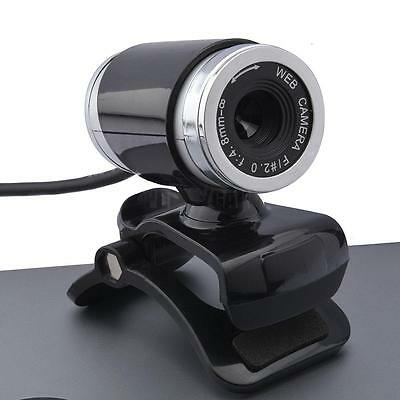NEw 12MP HD Computer Camera with Mic Clip-on for PC Laptop Skype