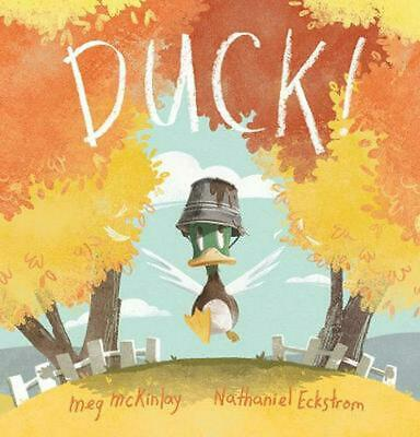 DUCK! by Meg McKinlay Hardcover Book Free Shipping!