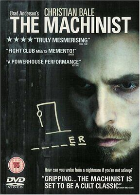 The Machinist [2004] [DVD] [2005] - DVD  8SVG The Cheap Fast Free Post