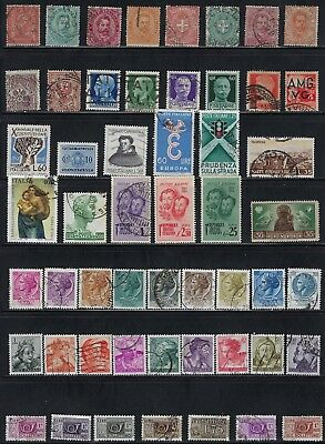 Italy - Collection of Stamps- Many Older.......  - # 8613