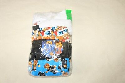 LOT OF 6 THE LEGO MOVIE Little Boy's Lego's Character Boxer Briefs - 6