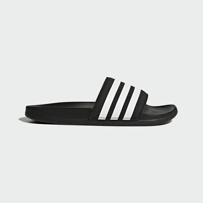 Details about Adidas Women Adilette CF Plus Slipper Training Shoes Black Beach Sandales CG3427
