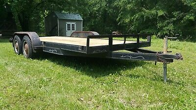 16' Heavy Duty Tandem Axle Trailer