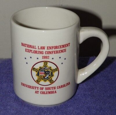 1992 BSA National Law Enforcement Exploring Conference Coffee Mug
