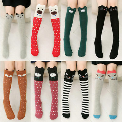 Cute Baby Toddlers Girls Knee High Socks Tights Leg Warmer Stockings For Age3-12