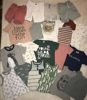 Huge 3T Lot Of Summer Boys Clothes Gap, Old Navy, etc. (20 Pieces)