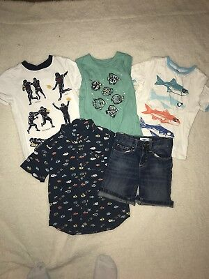 4T Boys Summer Lot Old Navy And Gymboree