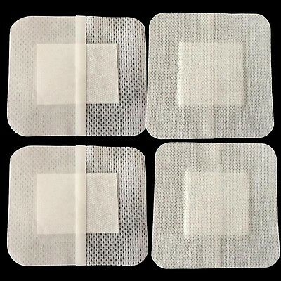 10PC Non-Woven Medical Adhesive Wound Dressing Large Band Aid Bandage 6x7cm Pro