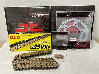 Yamaha Mt10 Chain And Sprocket Kit 16-17 Heavy Duty Did Gold X-Ring