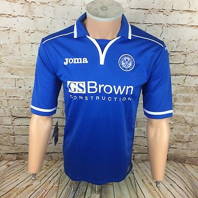 BNWT 2013/14 St Johnstone Home Football Shirt Joma Sz Medium / M Men's