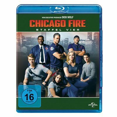 Blu-ray - Chicago Fire-Staffel 4