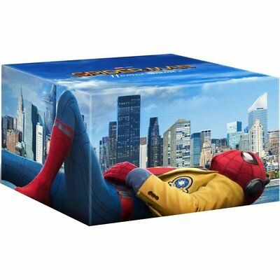 Blu-ray - SPIDER-MAN : HOMECOMING - FIGURINE + UHD +  BD 3D + 2D + BD BONUS - T