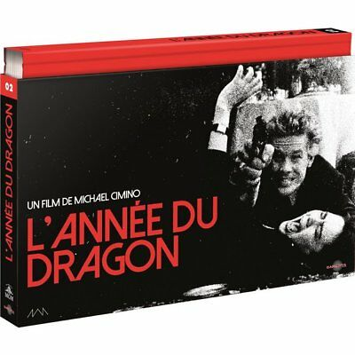 Blu-ray - L'ANNÉE DU DRAGON - COFFRET ULTRA COLLECTOR N°2 - Mickey Rourke, John