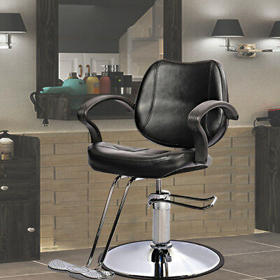 90X60X90/100cm Salon Barber Shop Chair Classical Hair Cutting Seat with Footrest