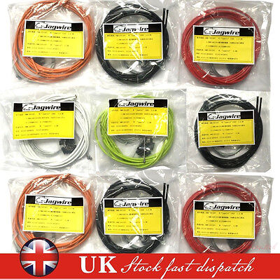 Brake Cable Set Jagwire Front & Rear Inner Outer Wire Gear Mountain Bike Bicycle