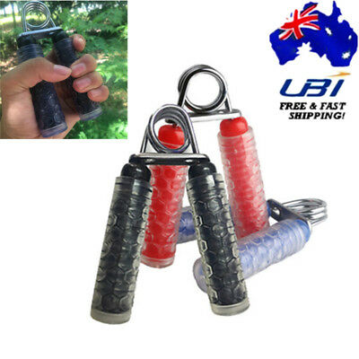 Sports Grip Hand Grippers Build Forearm Wrist Fingers Strength Training Exercise