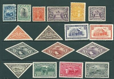 COSTA RICA mint stamp collection from 1863 onwards