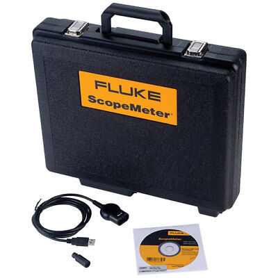 Fluke SCC120E Flukeview Software, USB Cable and Case (120 Series) English