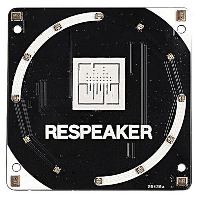 Seeed 103030216 ReSpeaker 4 Mic Array for Raspberry Pi Voice Assistant