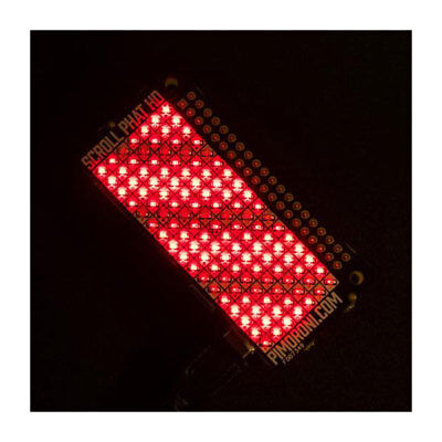 Pimoroni PIM331 Scroll pHAT HD Red 119 LED Array for Raspberry Pi