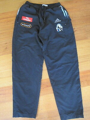 COLLINGWOOD AFL APPROVED TRACKSUIT PANTS Adult size SMALL Leg is 103cm long