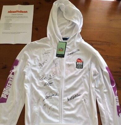 Autographed Hoody - Australian Sports Stars  - Size XS - Ideal For Framing